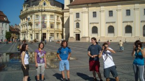 O oră în altă țară - centrul Sibiului