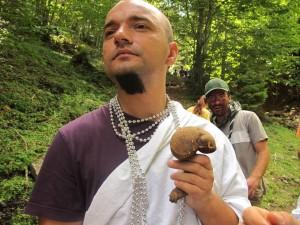 Radu este unul din personajele pozitive din Provocarea Zeilor cross-country game-ul din CCL2012 (foto: Ioana AVRAM)