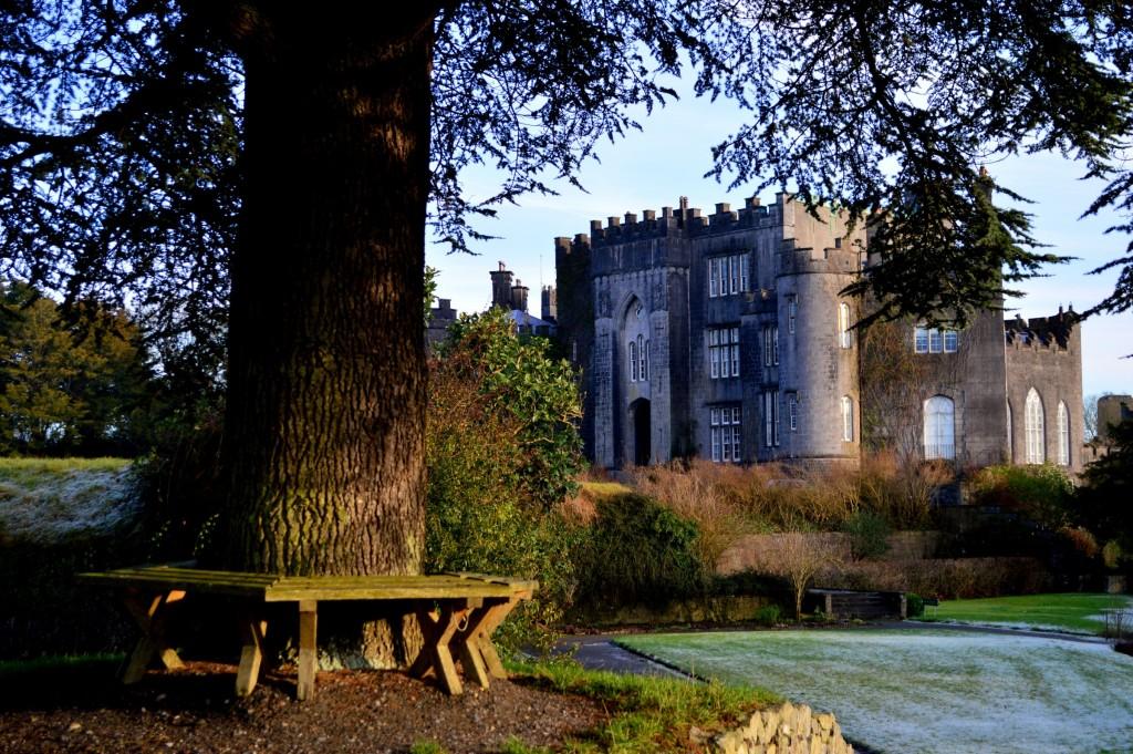 Reședința privată a familiei care deține castelul