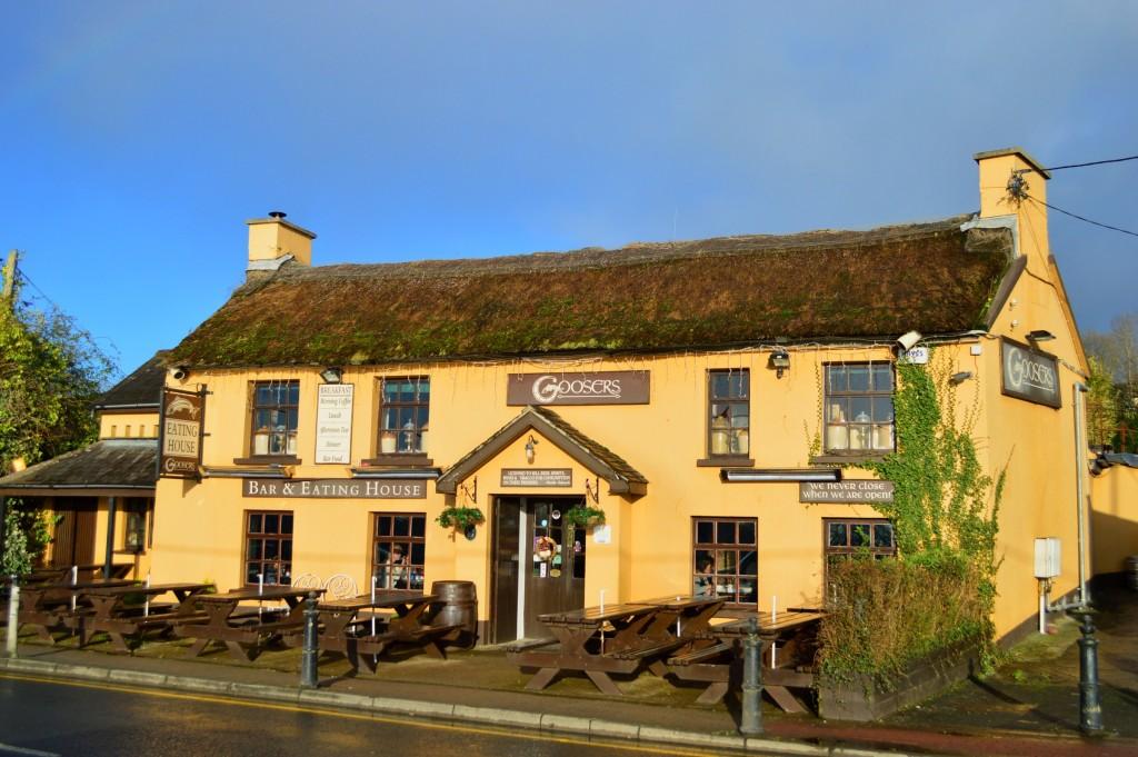 Un restaurant pe malul Shannonului