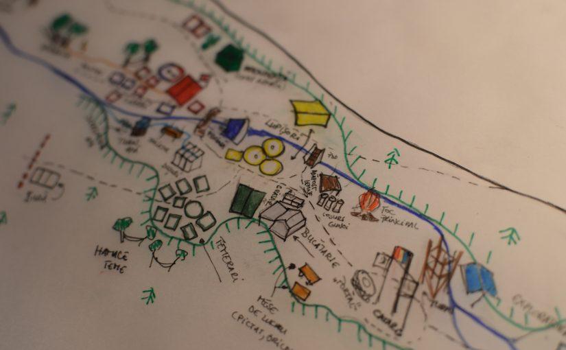 Pirații din Caraibe: harta campului