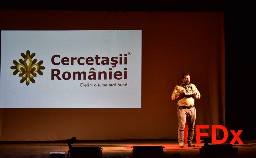 Despre cercetășie și inițiative locale la TEDxDrobetaTurnuSeverin
